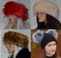 Fur Headbands & Hats